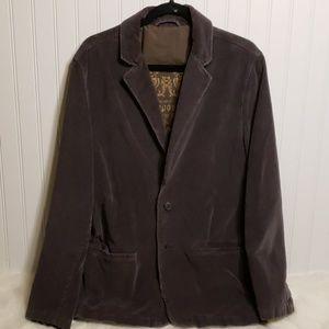 Aeropostale Gray Corduroy Men's Blazer